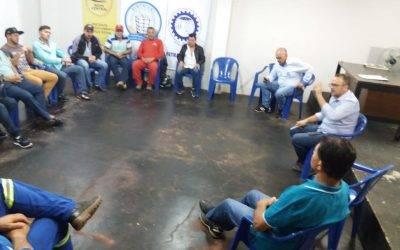 01/07/2019 – Reunião da Diretoria do Sintrivel