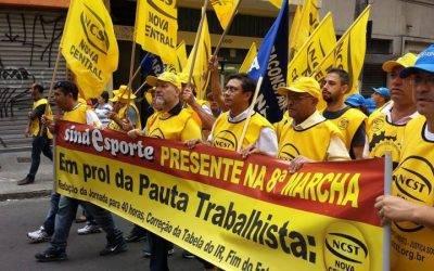 8ª Marcha da Classe Trabalhadora – São Paulo – 2014