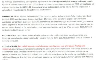 TABELA SALARIAL 2019/2020 – ARTEFATOS DE CIMENTO X SINDICAF