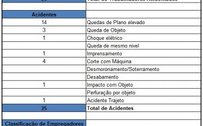 ACIDENTES DE TRABALHO – 2017