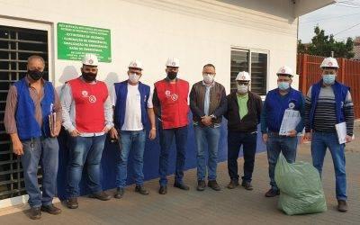 Sintrivel notifica obras e indústrias com a Brigada da Segurança no Trabalho Fetraconspar/ICM